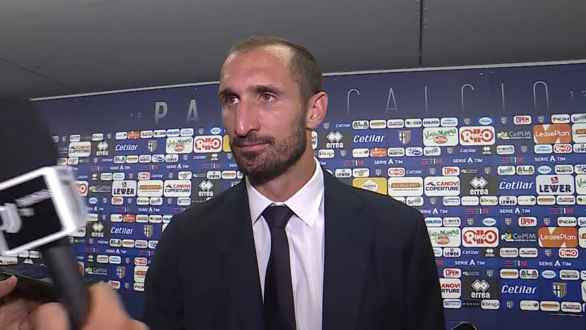 Parma - Juventus | Chiellini: «We are happy»