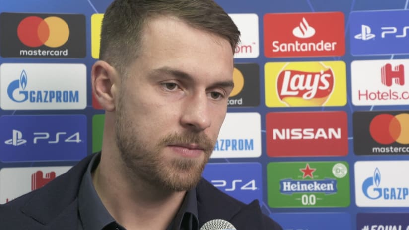 Lokomotiv Mosca - Juventus | Ramsey: «Felici per la qualificazione agli ottavi»