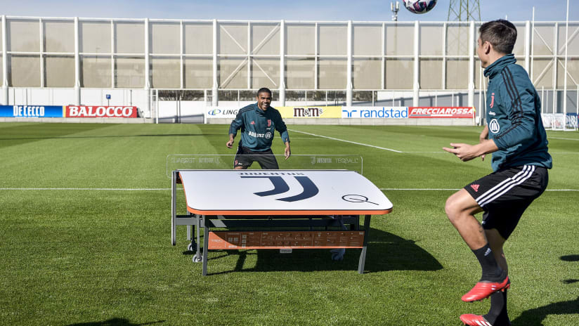 Che sfida, Paulo vs Douglas!