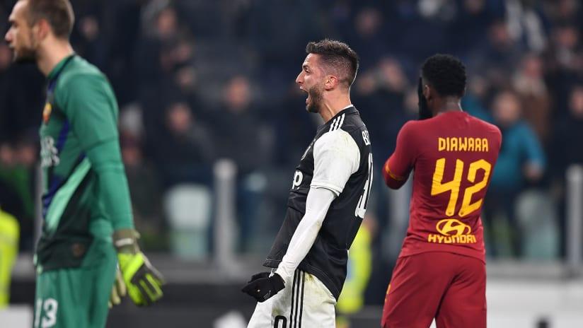 Pitchside view | Coppa Italia - Quarter finals | Juventus - Roma