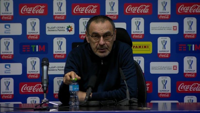 Conferenze stampa   Post Juventus - Lazio