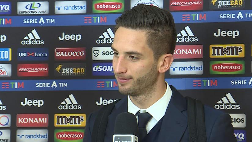 Juventus - Sassuolo | Bentancur: «Quella del secondo tempo è la strada giusta»