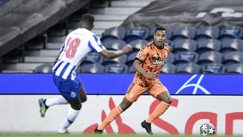 Porto - Juventus | Alex Sandro: «Chiesa's goal was important»