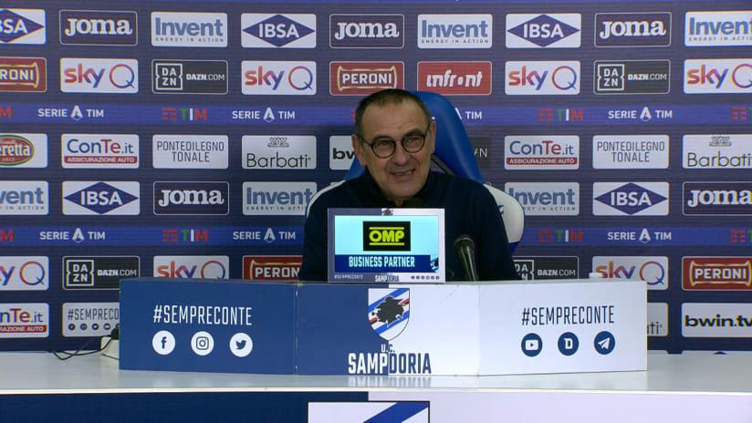 Conferenze stampa   Post Sampdoria - Juventus