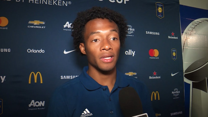 Juventus - Barcelona | Cuadrado: «It was good to be involved in a game like this»