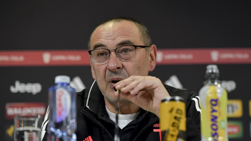 Press conference | The eve of Juventus - Roma
