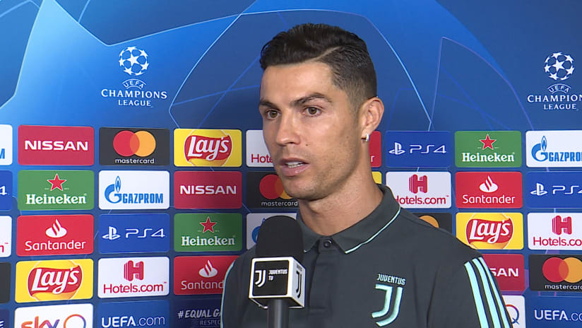 Juventus - Lokomotiv Mosca | Cristiano: «We need to have a good game and win»