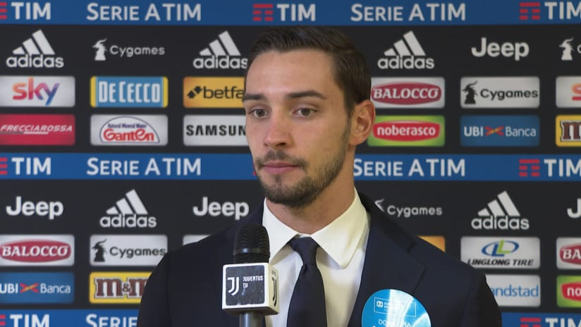 Juventus - Frosinone | De Sciglio: «È stata una buona partita»
