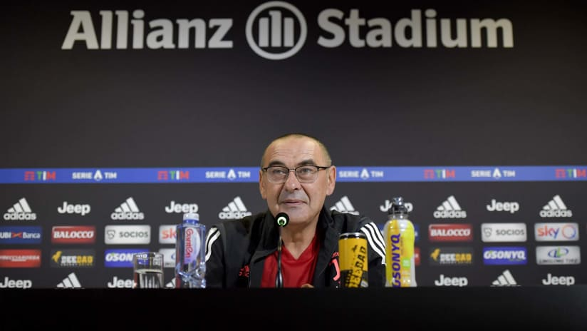 Press conference   The eve of Fiorentina - Juventus