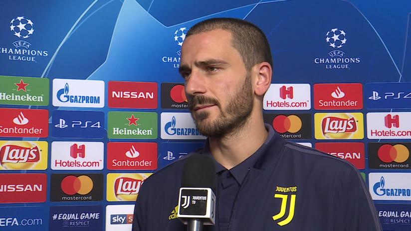 Juventus - Manchester United | Bonucci: «Attenzione alle ripartenze degli inglesi»