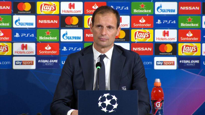 Press conference   Post Juventus - Ajax