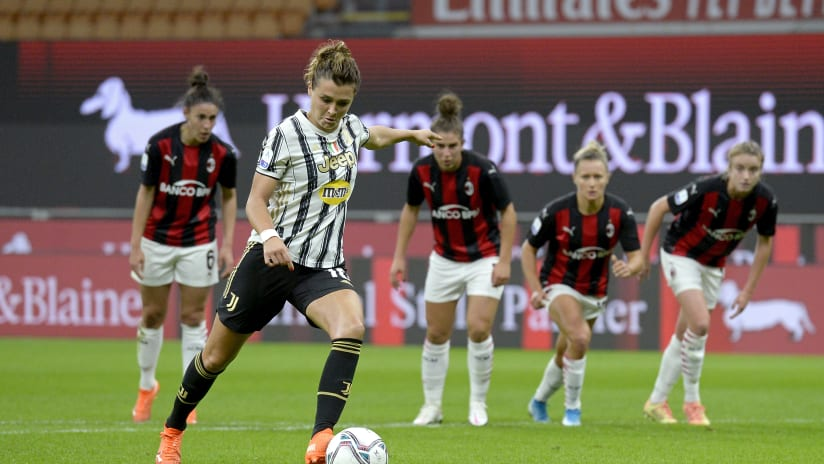 Women   All the goals scored against Milan