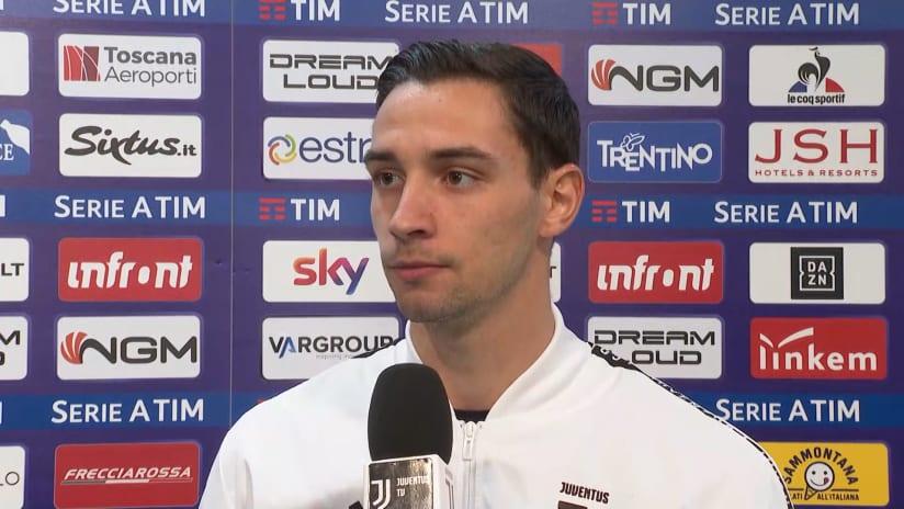 Fiorentina - Juventus | De Sciglio: «Sapevamo che non sarebbe stato semplice»