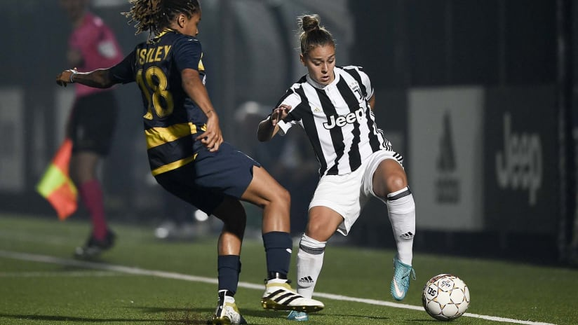 Juventus vs AGSM Verona Highlights