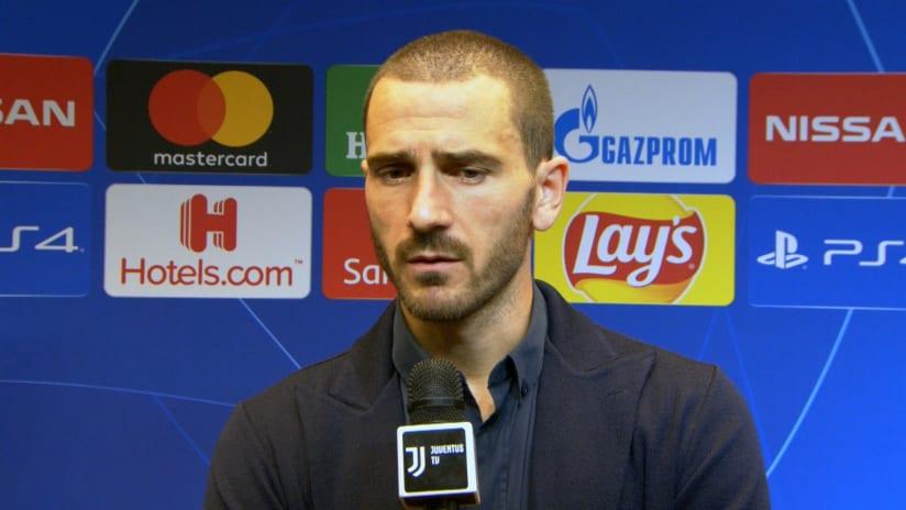Juventus - Lokomotiv Mosca | Bonucci: «Una prova di carattere»
