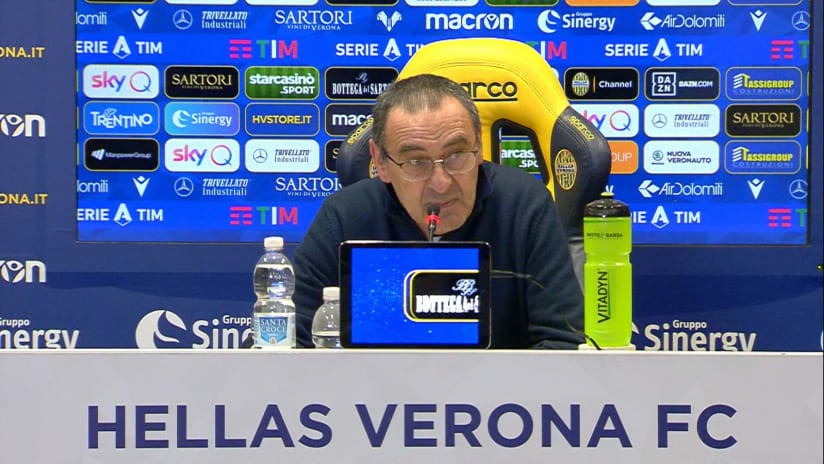 Conferenze stampa | Post Hellas Verona - Juventus