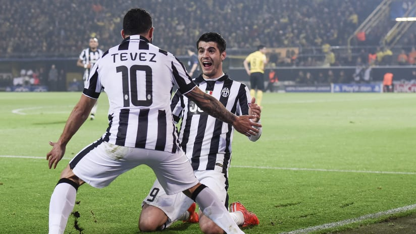 Assist+Gol | Tevez-Morata