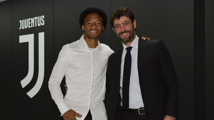 Cuadrado a Bianconero until 2022!