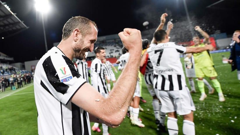 Atalanta - Juventus | Chiellini: «Abbiamo vinto una partita difficile»