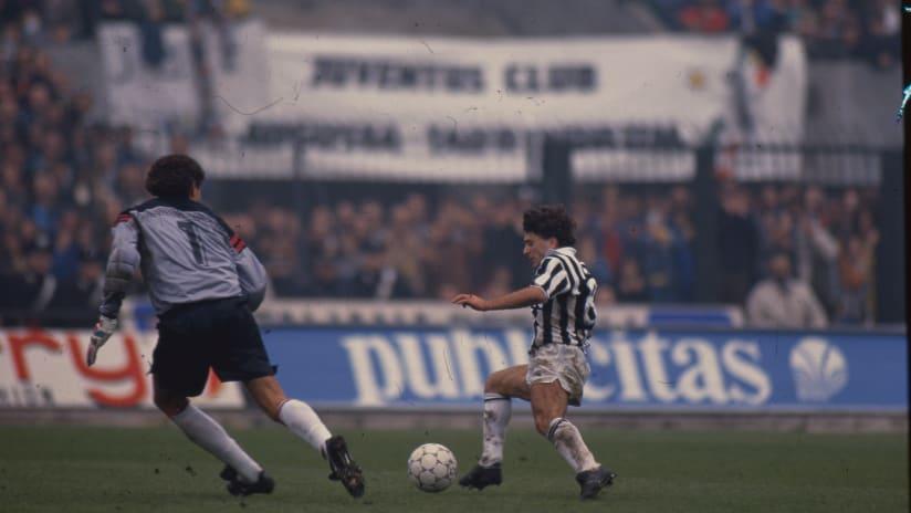 Juventus - Milan | Rui Barros brace in 1990!