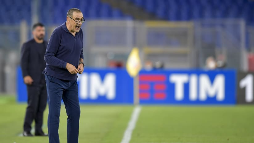 Napoli - Juventus | Sarri: «We lack brilliance»