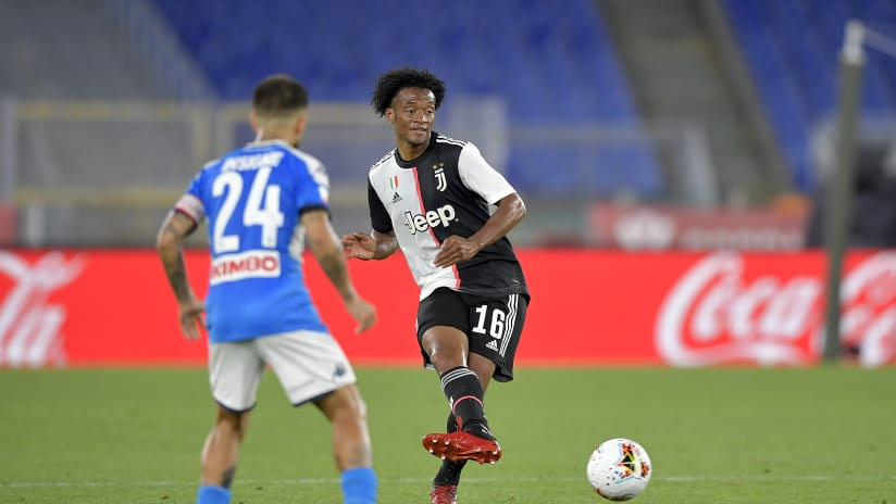 Napoli - Juventus | Cuadrado: «You learn from these situations»