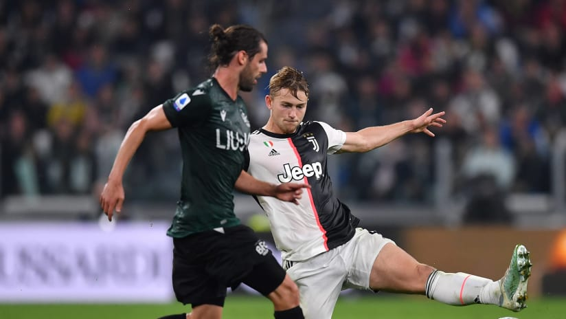 Matthijs de Ligt: skills & goals 2019/20