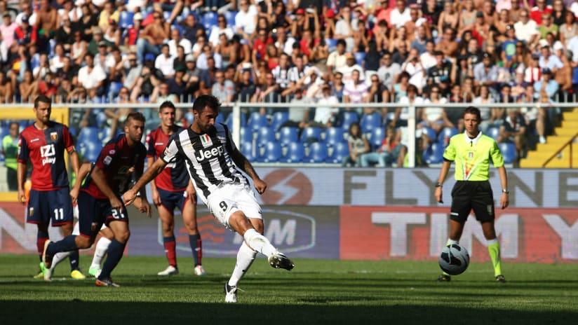 Genoa-Juventus: la rimonta del 2012