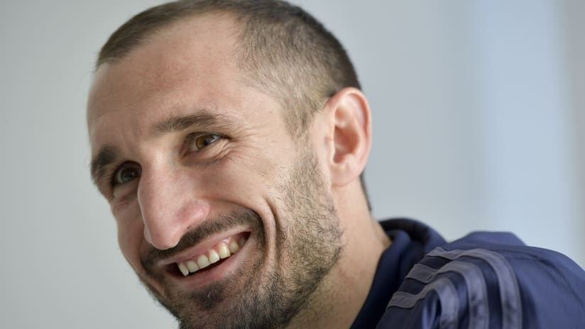 Players on the road | Giorgio Chiellini