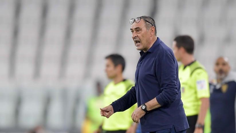Juventus - Lecce | Sarri: «Ho visto una bella mentalità»