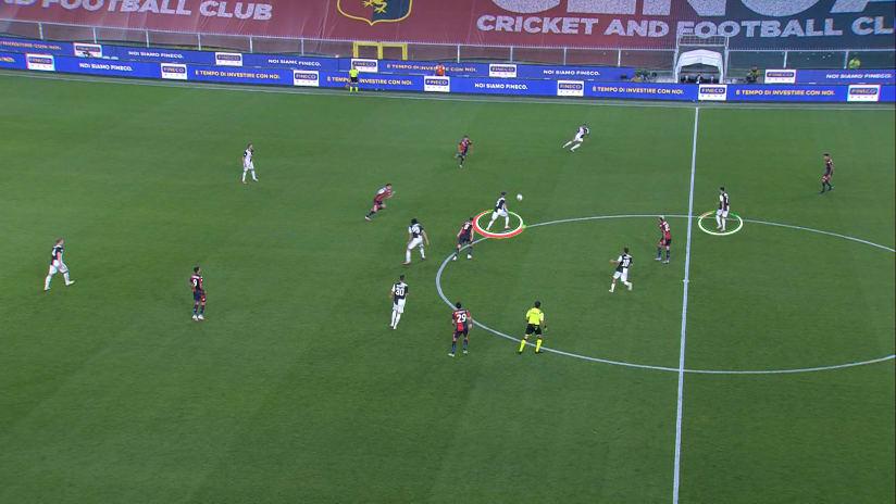 Genoa - Juventus   Il gol di Ronaldo
