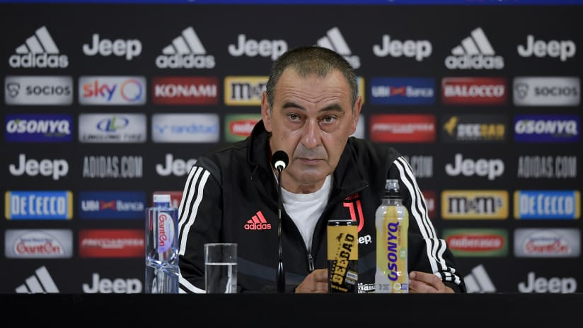 Sarri's comments on the eve of Juventus - Torino