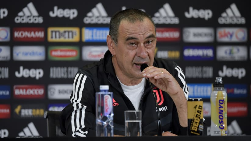 Sarri's comments on the eve of Milan - Juventus