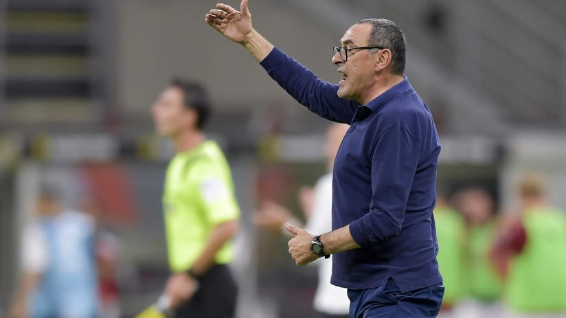 Milan - Juventus | Sarri: «We must remain calm»