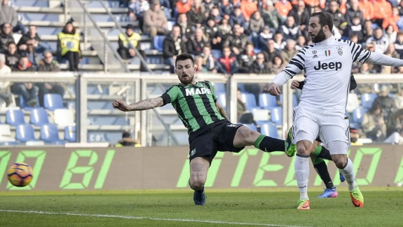 The perfect first half | Sassuolo - Juventus