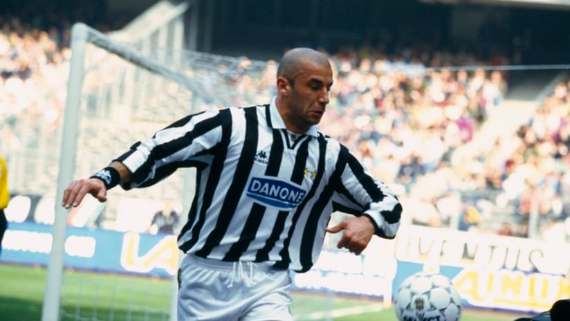 The magic of Vialli in Juventus-Lazio
