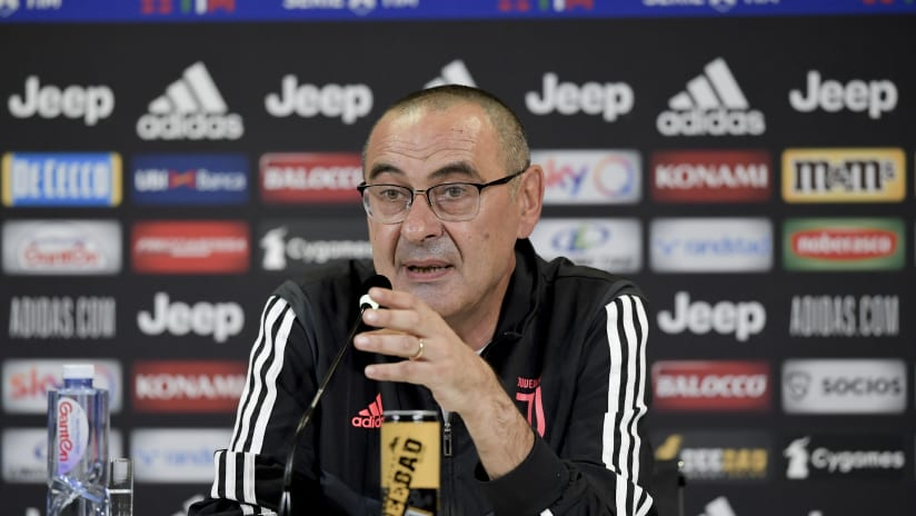 Sarri's comments on the eve of Juventus - Sampdoria