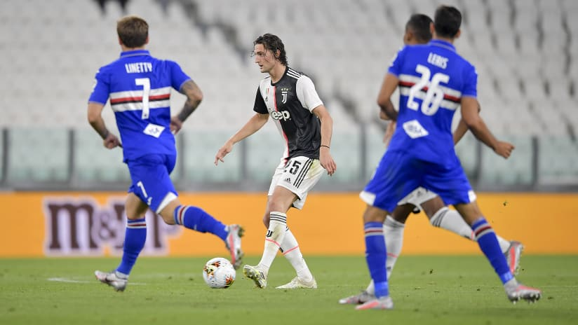 Juventus - Sampdoria | Rabiot: «I am happy»