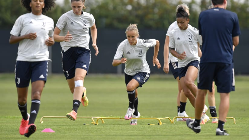 Women | The preparation at Vinovo continues