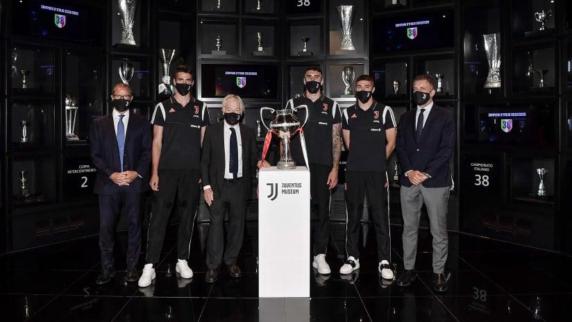 La Coppa Italia Serie C allo Juventus Museum!