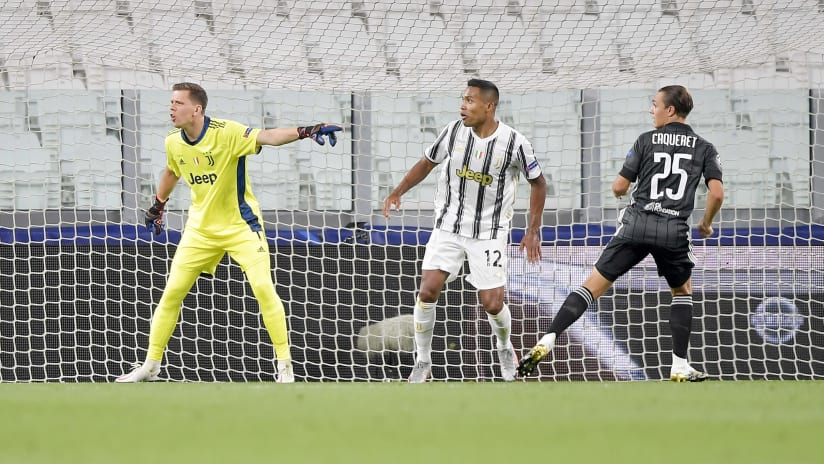 Juventus - Lione | Szczęsny: «We are very disappointed»