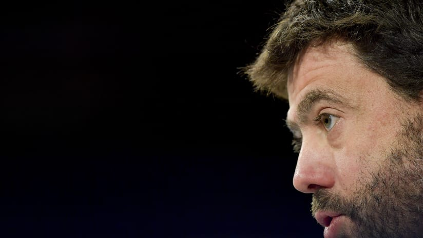Juventus - Lione | Le parole del Presidente