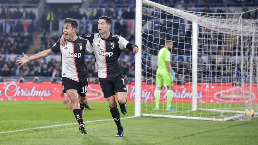 Assist + gol | Dybala-Ronaldo