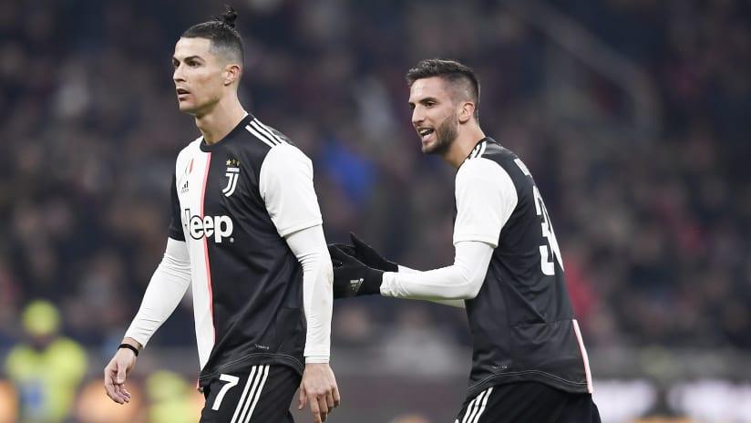 Assist + gol | Bentancur-Ronaldo