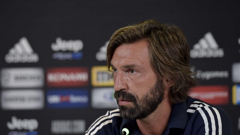 Andrea Pirlo presents the new season