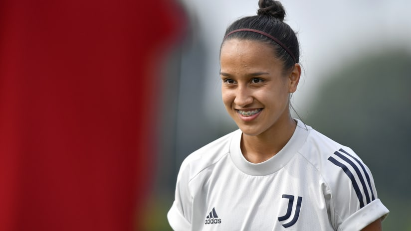 Women | Dalila Ippolito's emotions upon her Juventus debut
