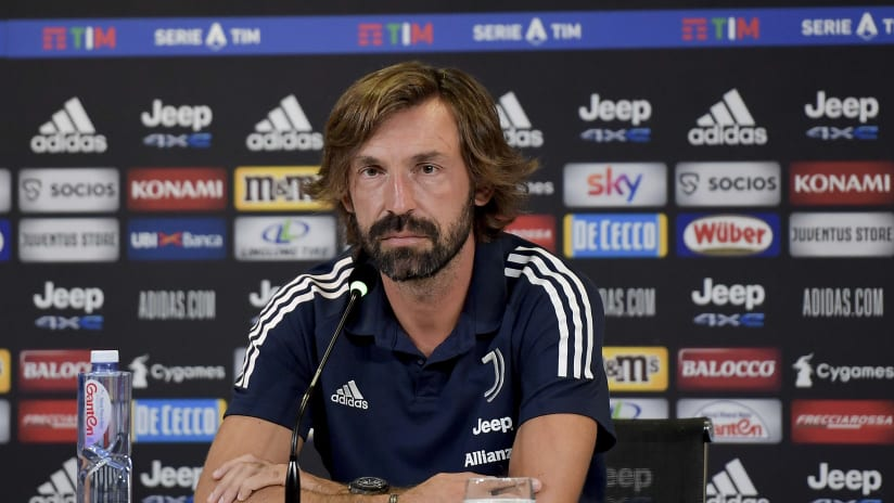 Pirlo's comments on the eve of Juventus - Sampdoria