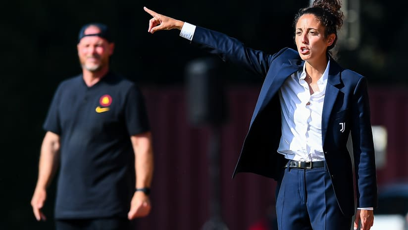 U19 Femminile | Juventus - Roma | Piccini: «Ho visto l'atteggiamento giusto»