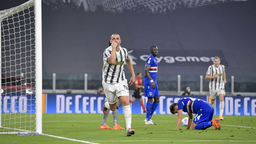 Juventus - Sampdoria | Bonucci: «Pirlo conveys a lot of serenity»