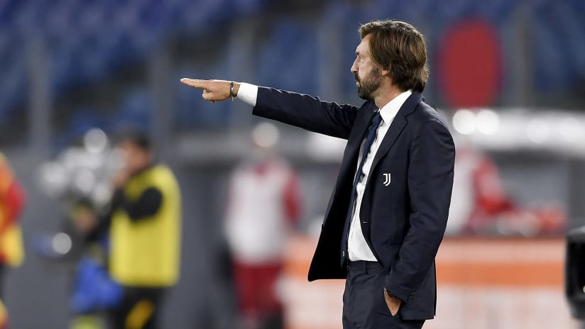 Roma - Juventus | Andrea Pirlo: «A great reaction in the second half»